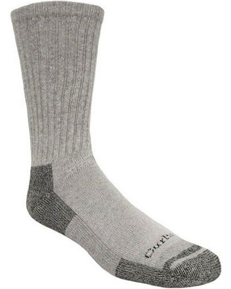 Carhartt All Season Cotton Crew Work Socks, Grey, hi-res