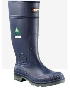 Baffin Men's Blue Bully Rubber Boots - Composite Toe, Blue, hi-res