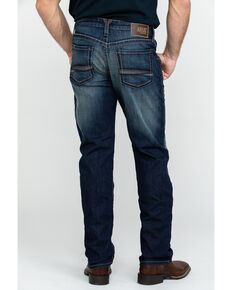 Ariat Men's M4 Nightfall Tekstretch Low Straight Jeans , Blue, hi-res