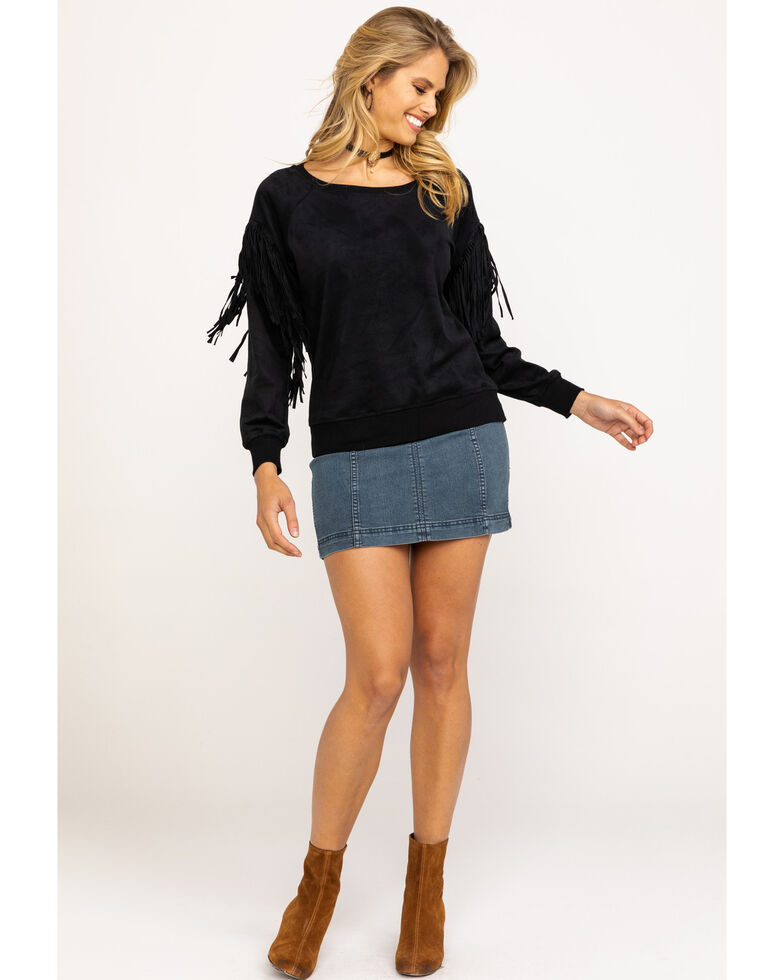 Ariat Women's Oasis Sweatshirt, Black, hi-res