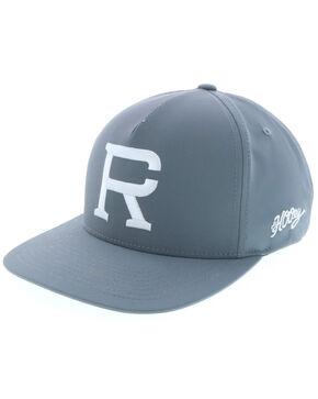 HOOey Men's Richie Champ Grey Trucker Cap, Grey, hi-res
