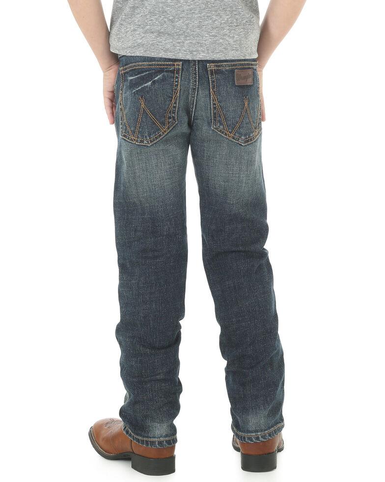 Wrangler Retro Boys' Slim Straight Jeans , Blue, hi-res