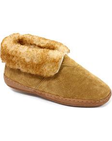 9d8d645b749 Women s Chestnut Leather Slipper Bootie.  32.00. Lamo Womens Leather  Moccasin ...