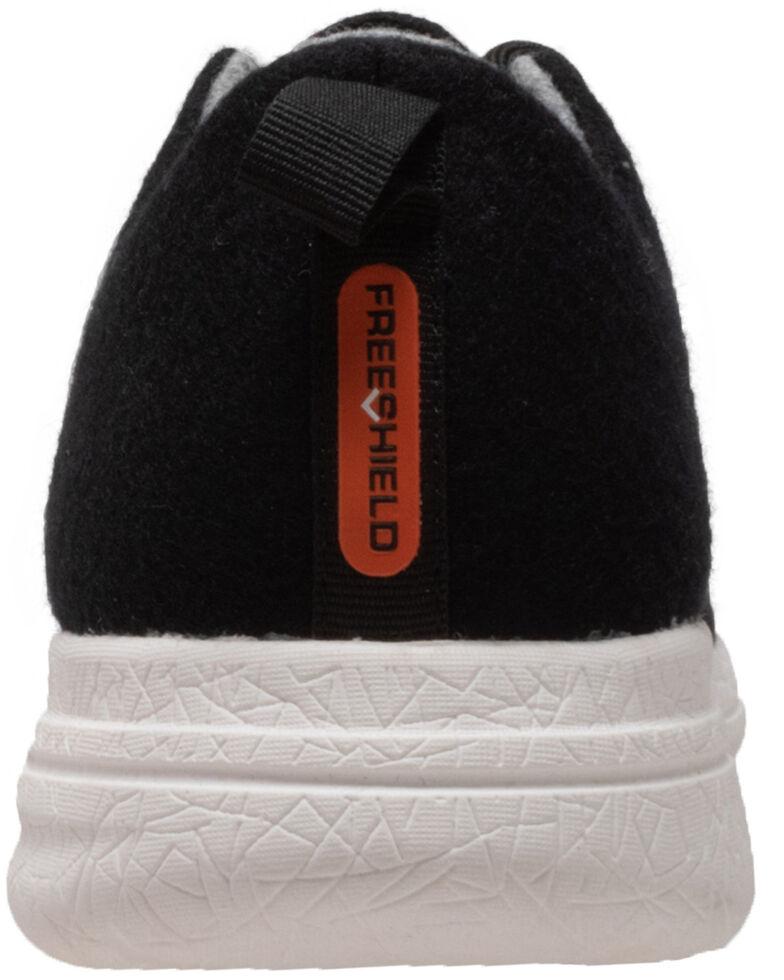 Freeshield Men's Real Wool Shoes, Black, hi-res