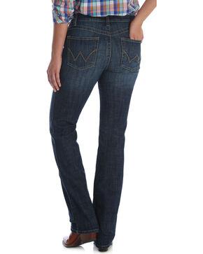 Wrangler Women's Dark Wash Ultimate Riding Q-Baby Jeans, Indigo, hi-res
