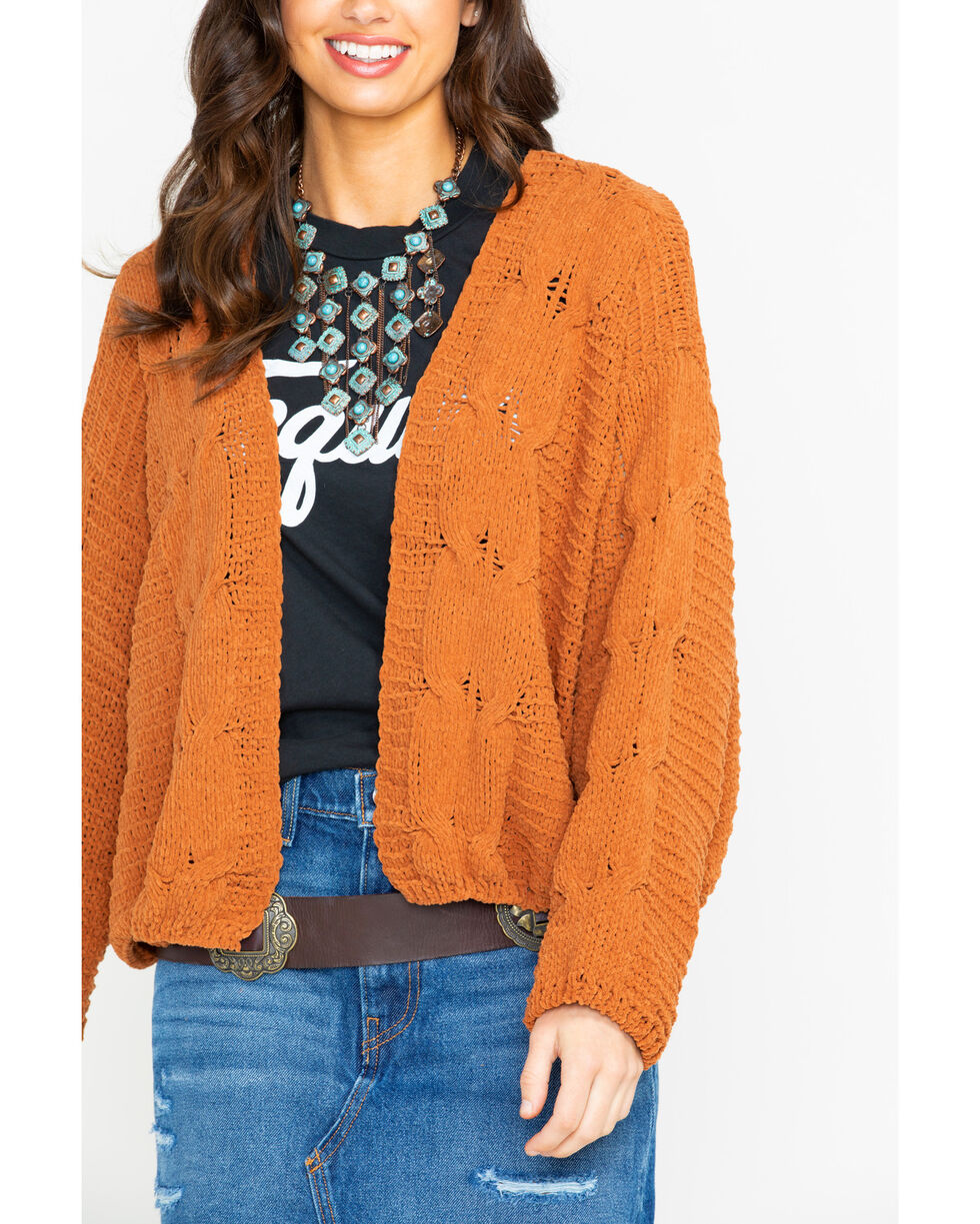 Sadie & Sage Women's Jane Knit Cardigan , Camel, hi-res