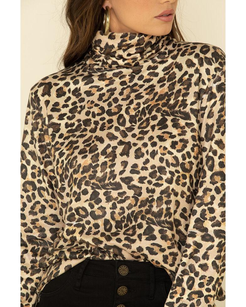 Tasha Polizzi Women's Leopard Print Top , Multi, hi-res