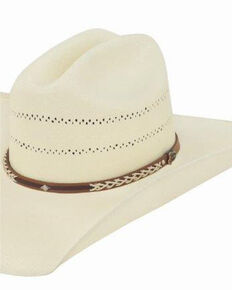 Justin Men's 20X Hank Straw Hat, Ivory, hi-res