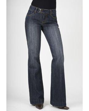 Stetson Women's 214 Fit City Trouser Jeans, Med Wash, hi-res