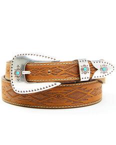 Leegin Women's Brown Dakota Belt, Brown, hi-res