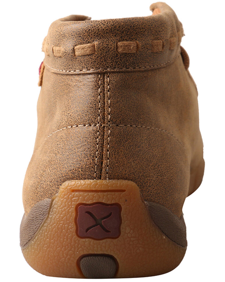 Twisted X Women's Nude Print Driving Shoes - Moc Toe, Brown, hi-res