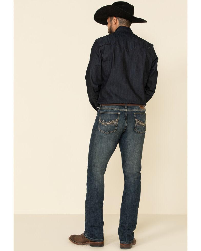 Wrangler 20X Men's No. 42 Marina Vintage Stretch Slim Bootcut Jeans , Blue, hi-res