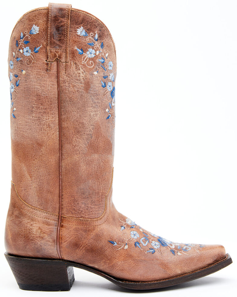 Shyanne Women's Analise Western Boots - Snip Toe, Taupe, hi-res