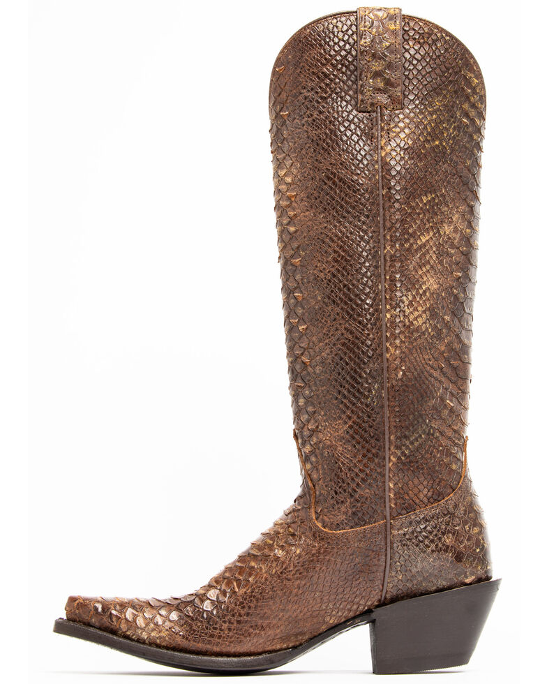 Idyllwind Women's Smok'n Western Boots - Snip Toe, Brown, hi-res