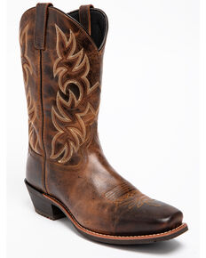 Laredo Men's Breakout Cowboy Boots - Square Toe, Rust, hi-res