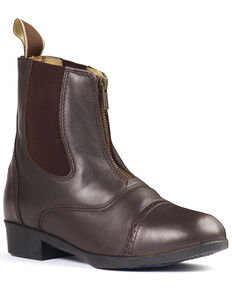 Ovation Women's Sport Rider II Paddock Boots, Brown, hi-res