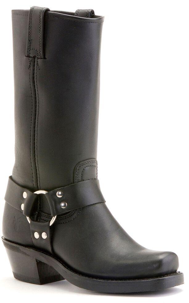 Frye  Women's Harness Boots - Square Toe, Black, hi-res