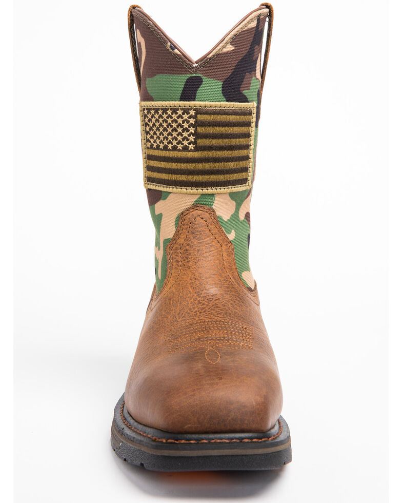 59ae3c4127c Ariat Men's WorkHog Patriot Work Boots - Steel Toe
