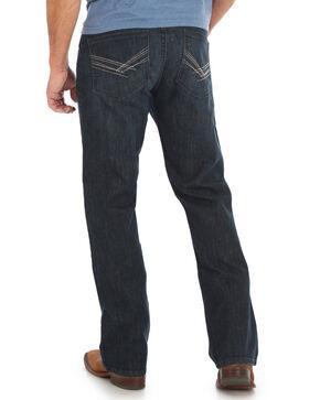 Wrangler 20X Men's No.42 Vintage Boot Cut Jeans , Dark Blue, hi-res