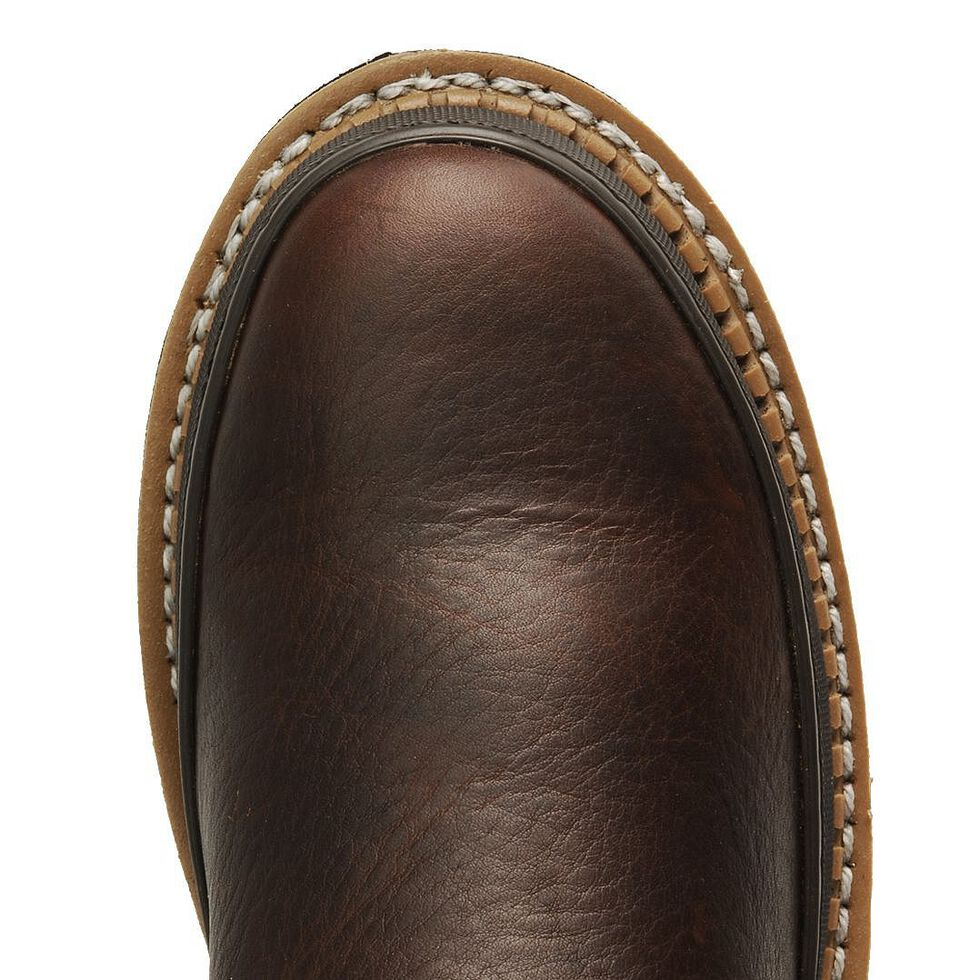Georgia Giant Pull-On Work Boots - Steel Toe, Brown, hi-res