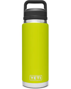 Yeti Rambler 26oz Chartreuse Chug Bottle, Red, hi-res