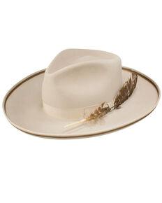 Stetson Men's Renegade Royal DeLuxe Felt Hat, Silver Belly, hi-res