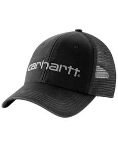 Carhartt Men's Dunmore Trucker Cap, Black, hi-res