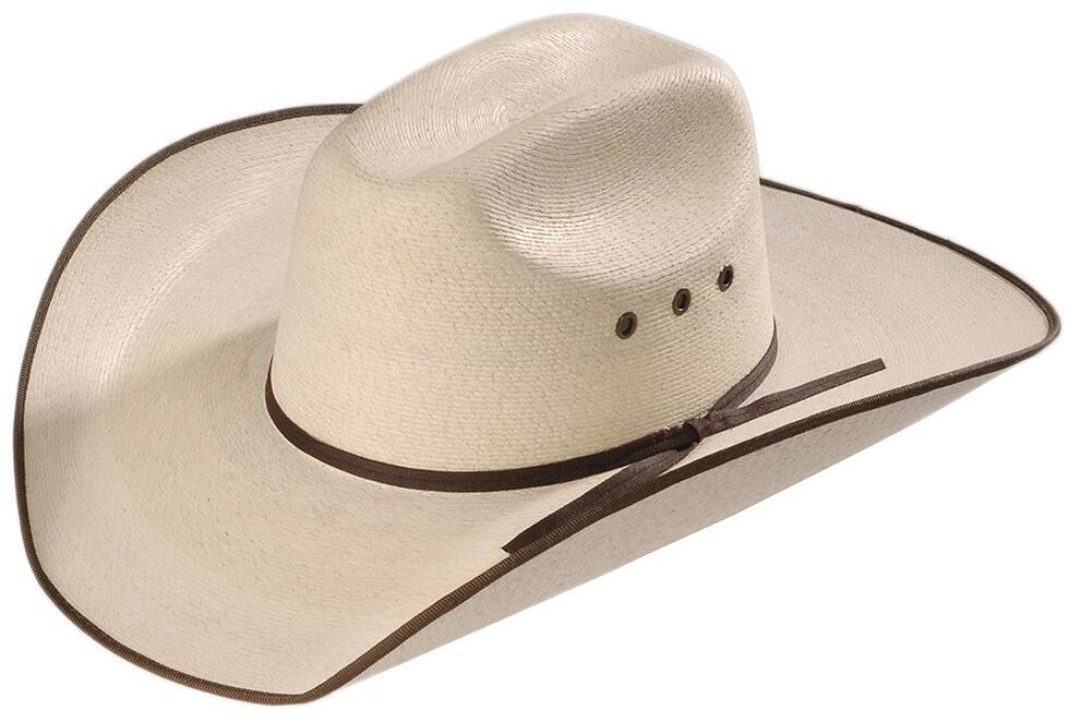 Atwood 5X Hereford Straw Cowboy Hat, Natural, hi-res
