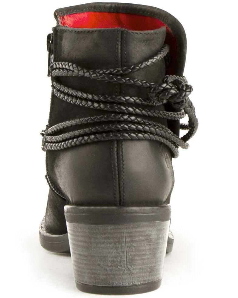 Ferrini Women's Macie Fashion Booties - Round Toe, Black, hi-res