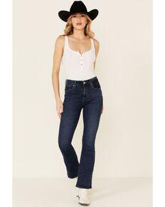 Levi's Women's 725 Lapis Dark Horse Bootcut Jeans, Blue, hi-res