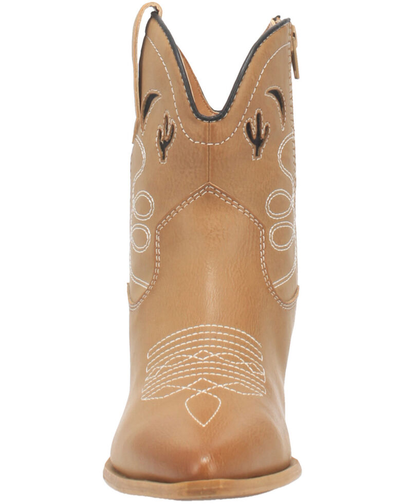 Code West Women's Agave Fashion Booties - Snip Toe, Taupe, hi-res
