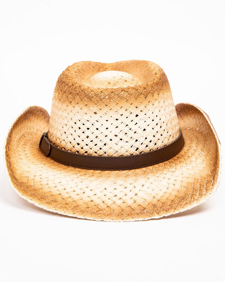 Cody James Men's Dust Straw Hat, Natural, hi-res
