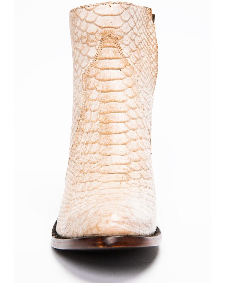 Idyllwind Women's Wings Bone Western Booties - Round Toe, Ivory, hi-res