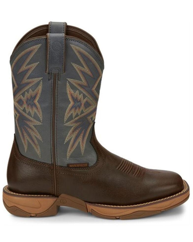Tony Lama Men's Bartlett Coffee Western Boots - Square Toe, Brown, hi-res