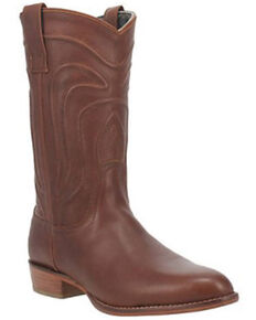 Dingo Men's Montana Western Boots - Round Toe, Brown, hi-res