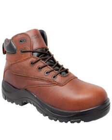 Case IH Men's Waterproof Lace-Up Work Boots - Composite Toe, Brown, hi-res