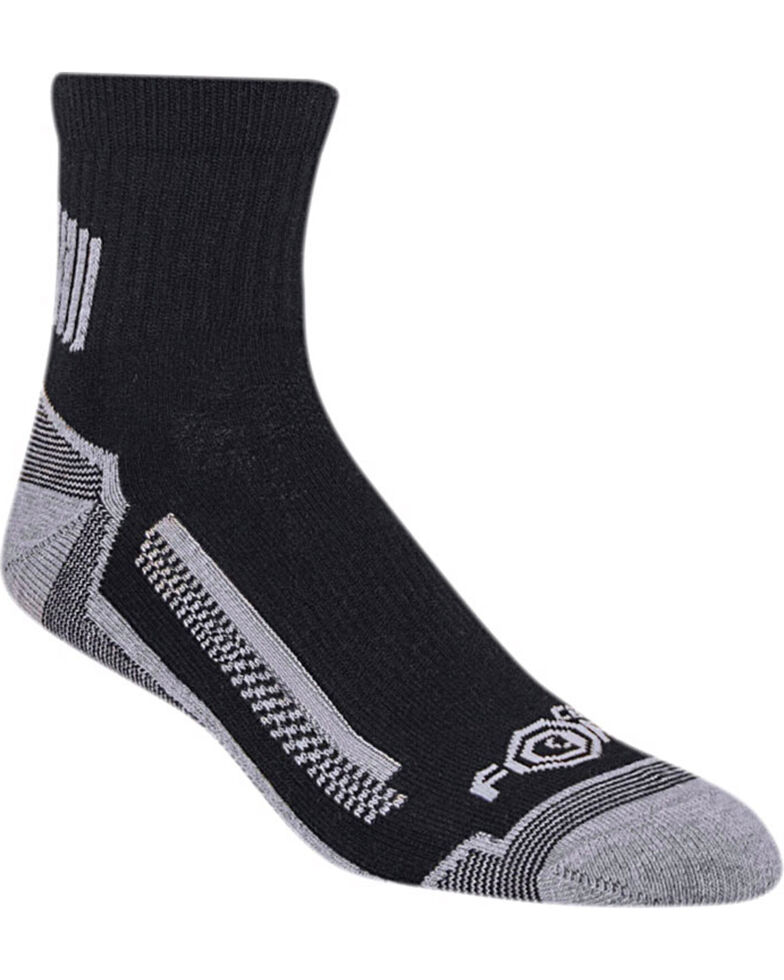 Carhartt Force Men's High Performance Work Quarter Sock - 3 Pack, , hi-res