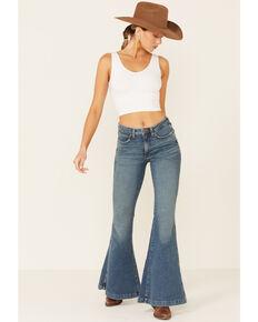 Wrangler Women's Retro Whitley Flare Jeans, Blue, hi-res