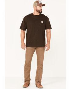 Ariat Men's M7 Whiskey Tan Wash Stretch Slim Straight Jeans , Tan, hi-res