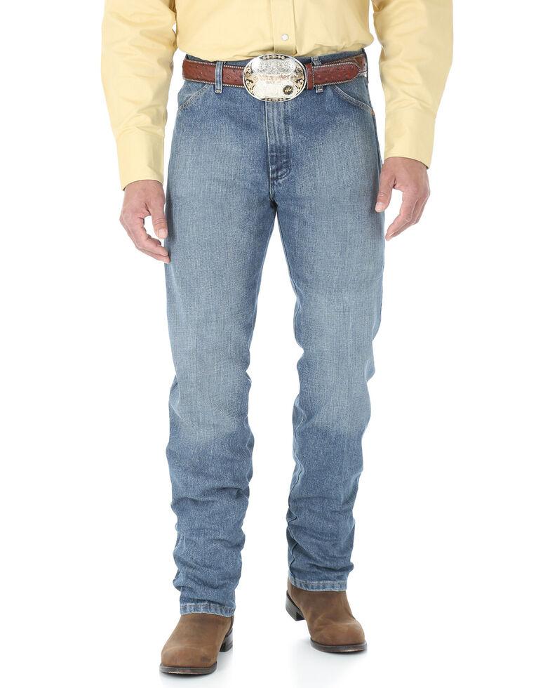 Wrangler Men's Pro Rodeo Roughstone Original Cowboy Cut Jeans - Long , No Color, hi-res