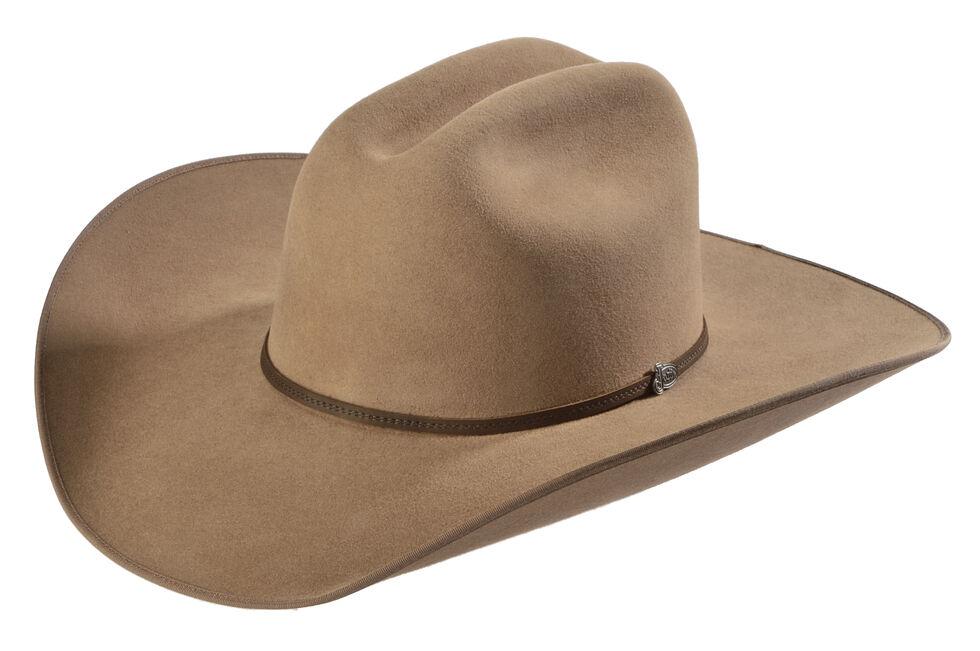 Justin Bent Rail 7X Hooch Pecan Fur Felt Cowboy Hat, , hi-res