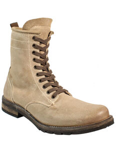Corral Men's Sand Lace-Up Boots - Round Toe, Sand, hi-res