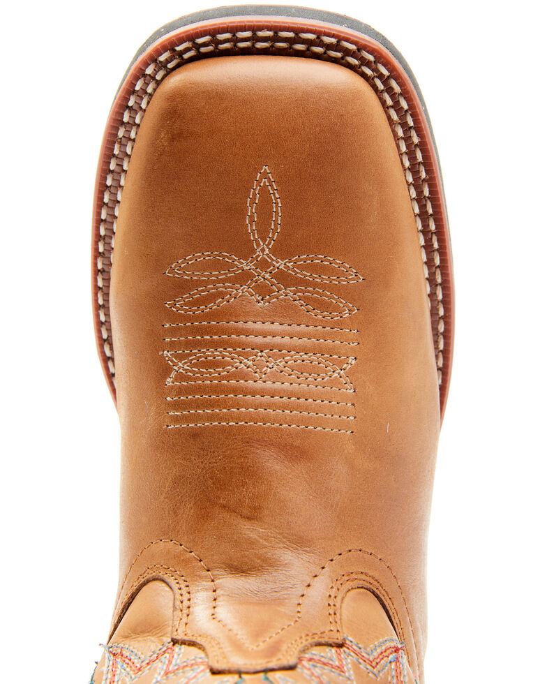 Laredo Women's Lad Tan Western Boots - Square Toe , Tan, hi-res