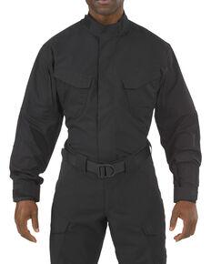 5.11 Tactical Stryke TDU Long Sleeve Shirt - 3XL, Black, hi-res