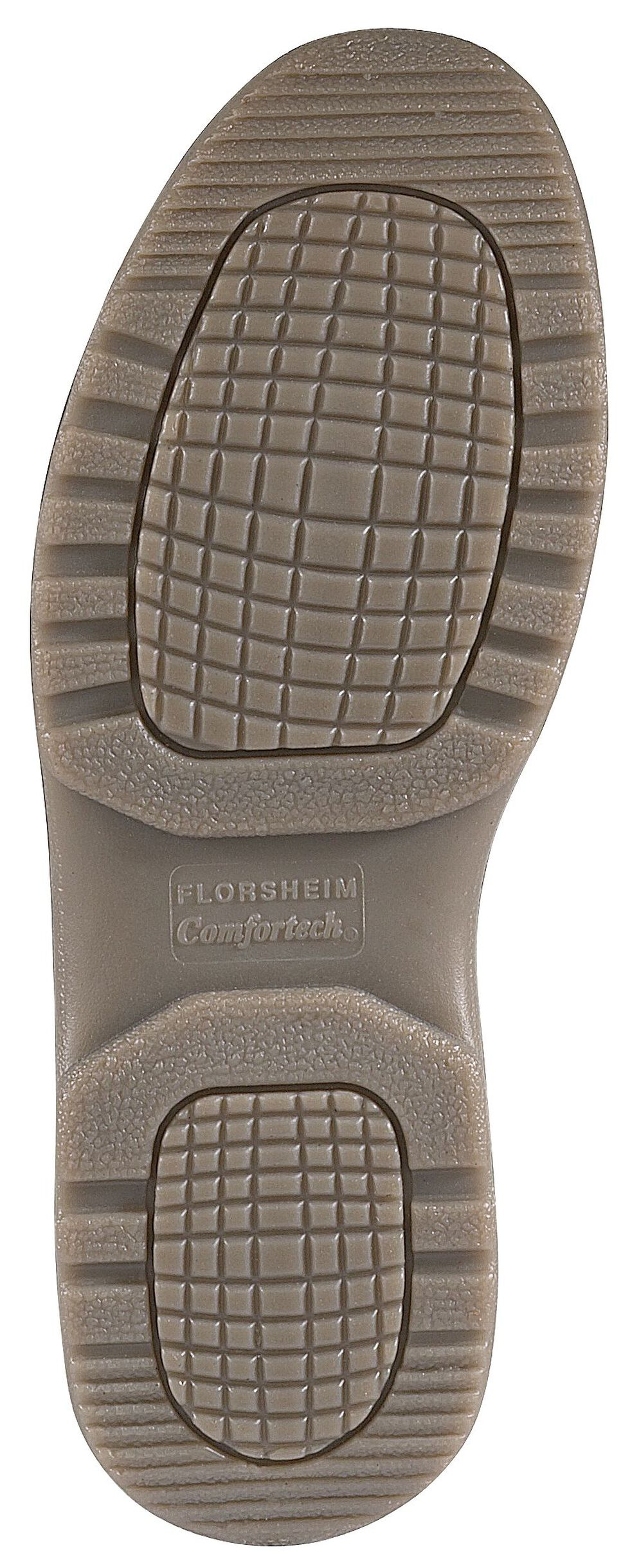 Florsheim Women's Compadre Oxford Work Shoes - Composite Toe, Brown, hi-res