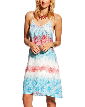 Ariat Women's Blissful Tank Dress, Multi, hi-res