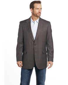 Circle S Men's Sable Sportcoat, Lt Brown, hi-res