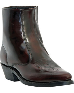Laredo Men's Long Haul Western Boots - Medium Toe, Black Cherry, hi-res