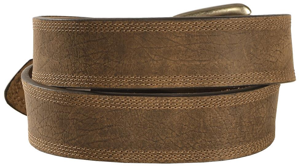 Ariat Aged Bark Basic Leather Belt, Aged Bark, hi-res