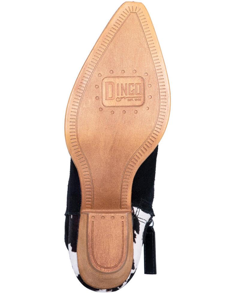 Dingo Women's Buck The Rules Fashion Booties - Snip Toe, Black, hi-res